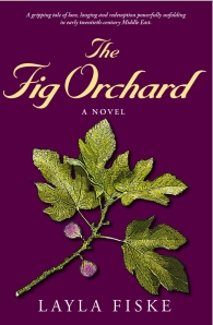 Book Cover Front for The Fig Orchard